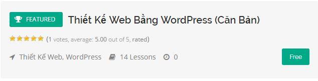 Thiết Kế Web Bằng WordPress (Căn Bản)